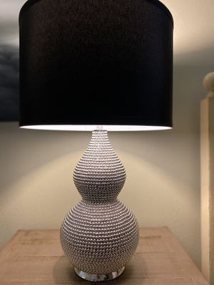 Pair of modernist chic lamps for Sale in Golden, CO