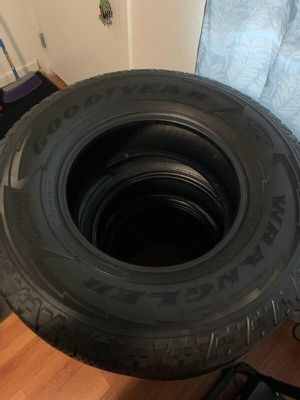 GOODYEAR WRANGLER TIRES! 265/70/16 for Sale in Los Angeles, CA