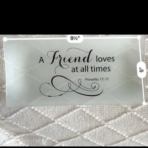 Friend Glass Plate LG for Sale in Chicago, IL