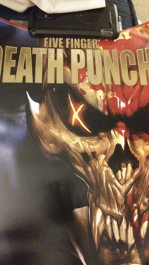NEW FIVE FINGER DEATH PUNCH SHAM PAIN for Sale in Simpsonville, SC