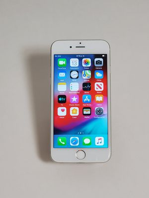 IPHONE 6 64GB SILVER UNLOCKED for Sale in Takoma Park, MD