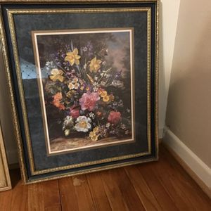 Flower Picture Frame for Sale in Houston, TX