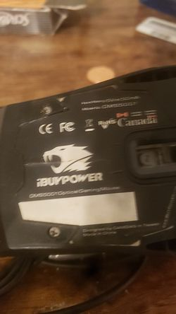 Ibuypower mouse good condition . for Sale in Fresno,  CA