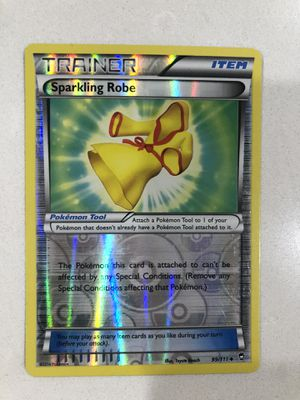 2014 pokemon Furious Fists reverse holo Sparkling Robe 99/111 for Sale in Irvine, CA