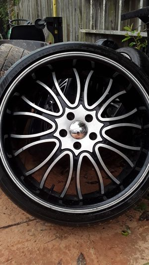 """20"""" Wheels and Tires combo. for Sale in Sebring, FL"""