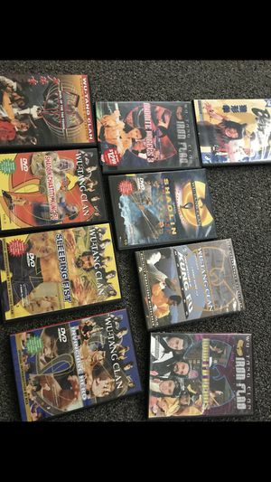 9!!classicKung fu dvds for Sale in Silver Spring, MD