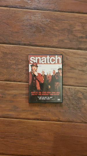 DVD - Snatch for Sale in San Clemente, CA
