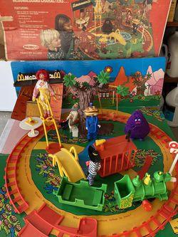 McDonald's McDonaldland Play Set for sale!! for Sale in San Jose,  CA