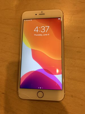 FACTORY UNLOCKED AT&T ROSE GOLD iPhone 6S+ Plus 64gb CLEAN IMEI for Sale in San Diego, CA