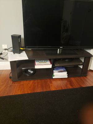 TV stand and tv for Sale in Rancho Cucamonga, CA