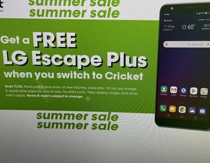 Free LG Escape Plus! Ends Soon! for Sale in Kingsport, TN