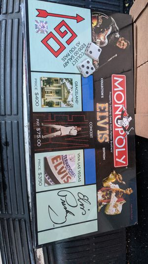 Monopoly Board Game Elvis Special for Sale in Hackettstown, NJ