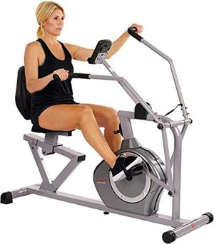 Sunny Health & Fitness SF-RB4708 Recumbent Exercise Bike, Cross Training, Arm Exercise(Brand New,Retail $399) - ONLY $240 for Sale in Phoenix, AZ