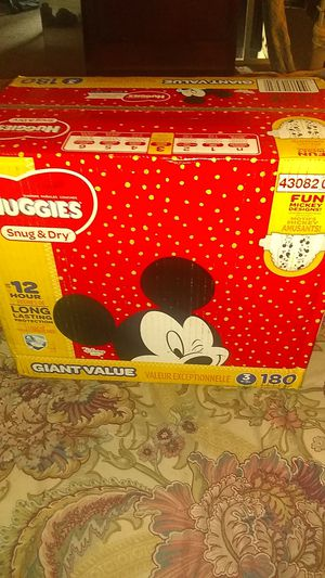 Huggies size 3 brand new box for Sale in Pittsburgh, PA