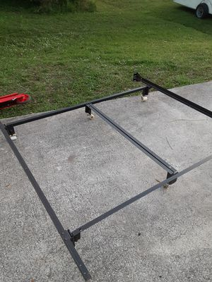 Queen heavy duty bed frame for Sale in Port St. Lucie, FL