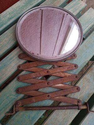 Antique Barber Shop Mirror accordion scissor type for Sale in Waterbury, CT