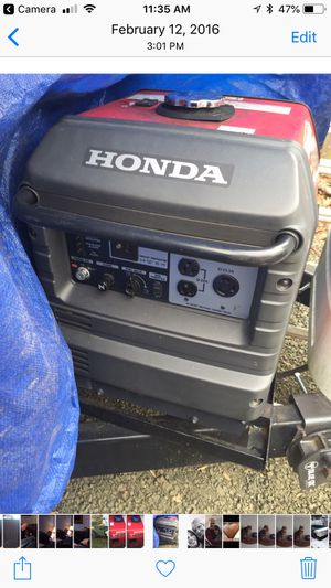 Honda EU 3000 is great condition used for camper less than 5 years old $1575 for Sale in Culpeper, VA