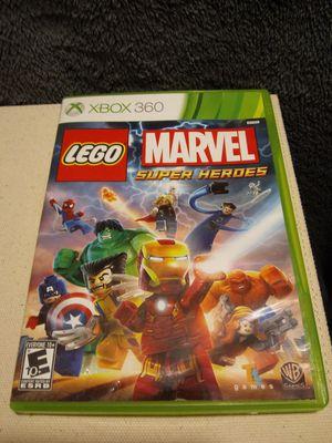 Lego Marvel super heros - games - Xbox - blocks - toys + voice 1080i 1080p - heroes - toys + kids + everyone - hulk + america for Sale in Naples, FL