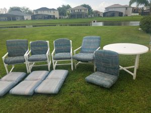 Palm casuals, patio furniture for Sale in Poinciana, FL