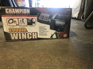 2,000 Lb winch for Sale in Anaheim, CA