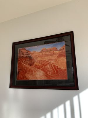 Large High Quality Wood Picture Frame for Sale in Chino Hills, CA