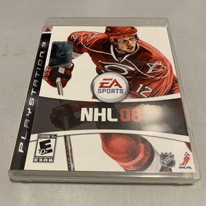 NHL 08 For PlayStation 3 PS3 Complete CIB Video Game for Sale in Camp Hill, PA