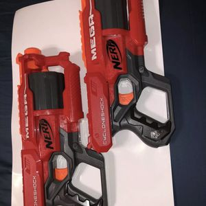 Nerf Gun Lot 30 Darts, SurgeFire, Disrupters, Rampage W/ Scope, Strongarms, Xtra for Sale in Doral, FL