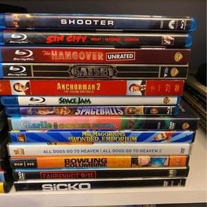 DVDs and BluRay Discs for Sale in Olympia, WA