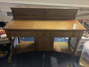 Antique English Buffet Table for Sale in Lake Forest, CA