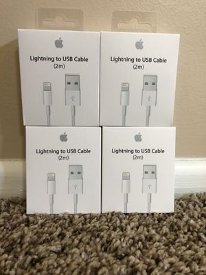 Brand new oem apple iPhone chargers for Sale in Cypress, CA