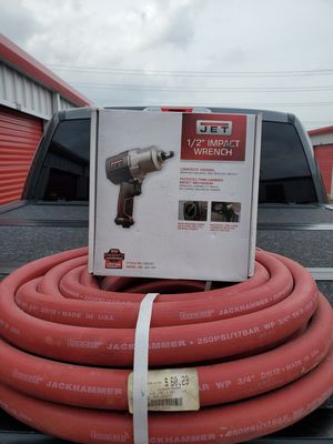 """JET 1/2"""" Impact Wrench With Air Hose for Sale in Houston, TX"""