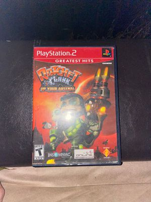 Ratchet and clank up your arsenal ps2 for Sale in Antioch, CA