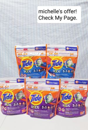 Tide Pods 3in1 16ct set/Original,Spring Meadow for Sale in Temple Hills, MD