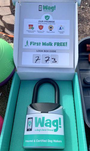 Wag! Lock Box Dog Walker 🔐🐶 for Sale in Phoenix, AZ