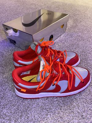 Off white nike sb size 10 for Sale in Mission Viejo, CA