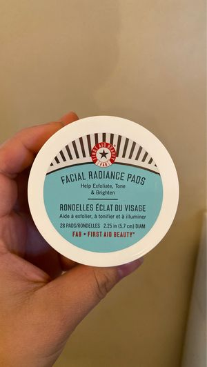 First aid beauty facial radiance pads for Sale in Fresno, CA