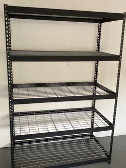 24-in D x 48-in W x 72-in H 5-Tier Steel Utility Shelving Unit for Sale in Fort Lauderdale,  FL