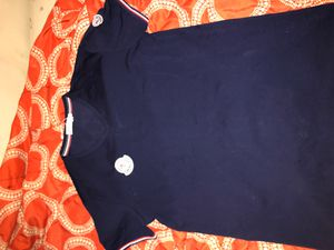 Navy blue moncler shirt size Large for Sale in Alexandria, VA