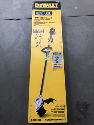 "Dewalt 20v Max XR 14"" grass trimmer (tool only) for Sale in Odessa, TX"