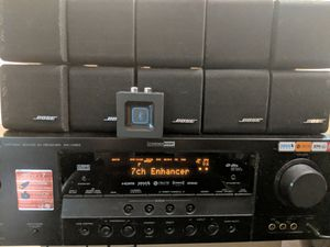 Home theater system Yamaha RX-V563 And Bose Speakers for Sale in Mount Prospect, IL