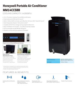 Honeywell Portable Air Conditioner for Sale in San Diego, CA
