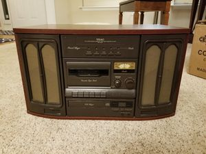 Teac GF-330 record player, CD player, tape player, AM/FM radio for Sale in Crofton, MD