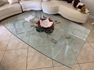Beautiful Glass Coffee table - Modern design for Sale in Miami Beach, FL