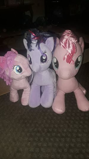 My little pony plushies for Sale in Lawrenceville, GA