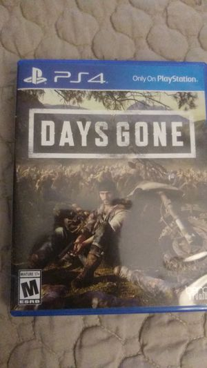 Days Gone PS4 for Sale in Houston, TX