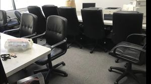 Business ended up SALE! Office chairs, tables, metal cabinets for Sale in Rancho Cucamonga, CA