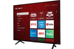 """TCL 49"""" Class 49S403 (48.5"""" Diag.) 4K Ultra HD Roku LED LCD TV for Sale in Rancho Cucamonga, CA"""