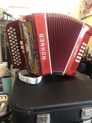 Super beautiful Hohner anacleto Hohner 3 swich in Fa limited edition for Sale in Donna, TX