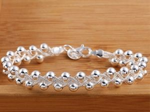 """Womens Sterling Silver Bracelet Almost 8"""" Beads Brand New for Sale in Sacramento, CA"""