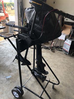 Nissan marine outboard and trolling motor for Sale in Brentwood, CA
